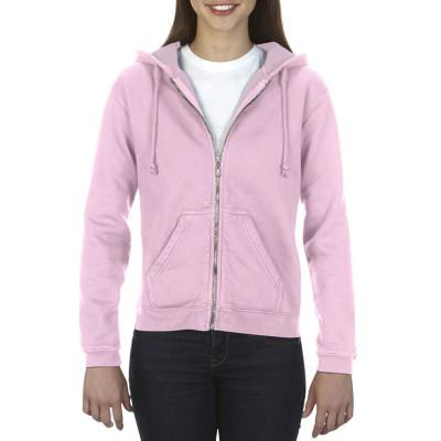 Hooded Sweater Full Zip Dames - COM1598