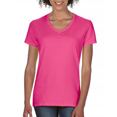 V-neck t-shirt Dames - COM3199
