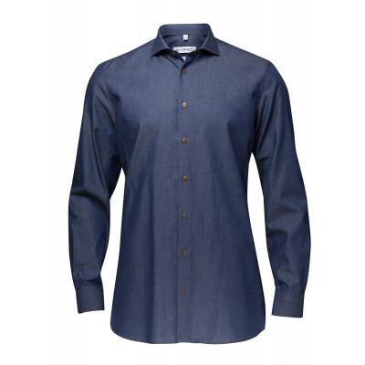 John Overhemd Denim Slim Fit LM (68cm)