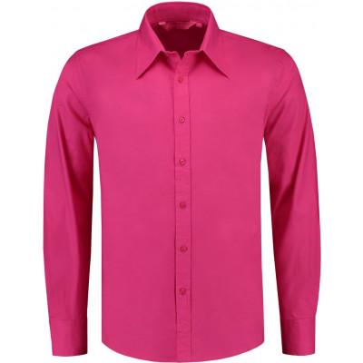 Overhemd Poplin Lange Mouw