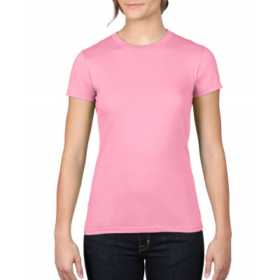 T-shirt Fitted ss Dames - ANV379