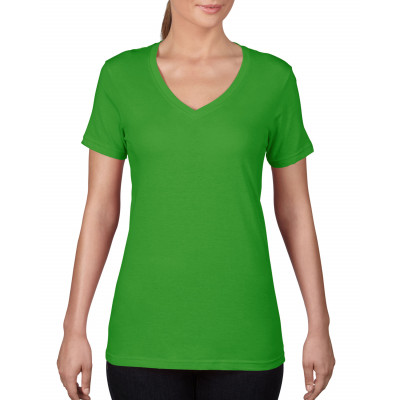 T-shirt Featherweight V-neck Dames