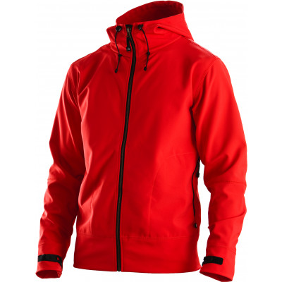 Heren Hooded Softshell Jack - FJ29