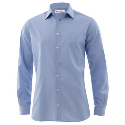 Heren Slim Fit Overhemd.Dresden Overhemd Heren Slim Fit Lm 68cm 11002 170050