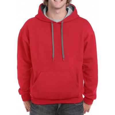 Sweater Hooded Contrast Heavyblend - GIL185C00